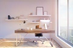 Tonificação do local de trabalho do escritório Imagem de Stock