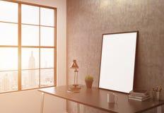 Tonificação lateral do quadro branco ilustração stock