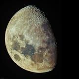 Tonight's Waxing Gibbous Moon Royalty Free Stock Photo