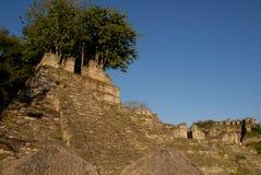 Toninà ¡, archeological miejsce rujnował miasto majowie cywilizacja obrazy stock