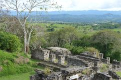 Tonina archeological site in Ocosingo, Chiapas Royalty Free Stock Image
