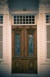 toning för split för dörrhus gammal royaltyfri bild
