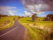 Toning för tappning för plats för vägtur nyazeeländsk Fotografering för Bildbyråer
