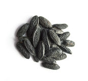 Tonka beans isolated on white Stock Images