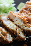 Tonkatsu (Deep fried pork) Royalty Free Stock Photography