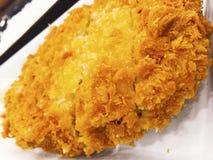 Tonkatsu ist ein japanisches Lebensmittel lizenzfreie stockbilder