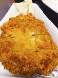 Tonkatsu jest Japońskim jedzeniem obrazy stock