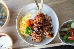 Tonkatsu , Pork cutlet Stock Image