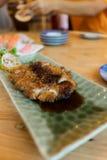 Tonkatsu , Pork cutlet Royalty Free Stock Photo