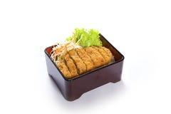 Tonkatsu ryż Zdjęcia Royalty Free