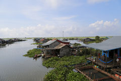 Tonlé Sap Lake Royalty Free Stock Images