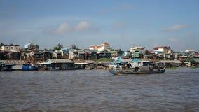 tonle подрыва озера Камбоджи Стоковые Изображения
