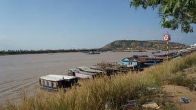 tonle подрыва озера Камбоджи Стоковое Изображение