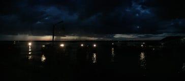 Tonle Aprosza jezioro Zdjęcia Stock
