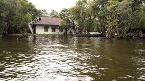 Tonle Sap湖,村庄 免版税库存图片