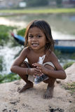 Tonle Sap湖 免版税库存照片