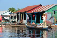 Tonle Sap, Cambodia Stock Photo