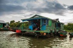 Tonle Sap, Cambodia Stock Images