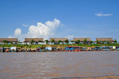 Tonle Sap Lake in Cambodia Stock Image