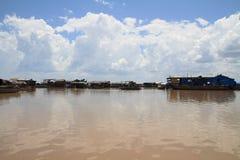 Tonle Sap lake Royalty Free Stock Photography