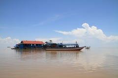 Tonle Sap lake Royalty Free Stock Photos