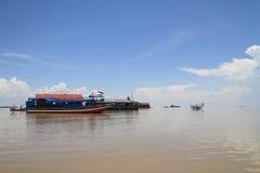 Tonle Sap lake Royalty Free Stock Images