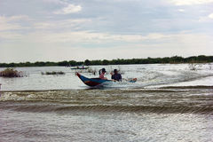 Tonle Sap Lake, Cambodia Stock Image