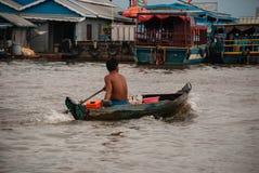 Tonle Sap lake, Cambodia. Royalty Free Stock Image
