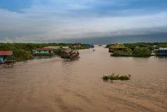 Tonle Sap lake, Cambodia. Stock Photo