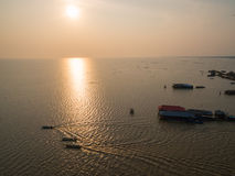 Tonle Sap lake Royalty Free Stock Image