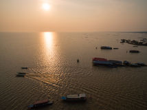 Tonle Sap lake Stock Photo