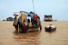 Tonle Sap lake Stock Photos