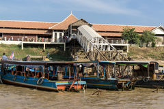 Tonle Sap port Stock Image