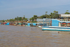 Tonle Sap port Royalty Free Stock Image