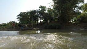 Tonle Sap River video estoque