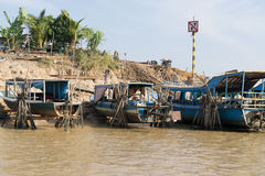 Tonle Sap Scenery Royalty Free Stock Photos