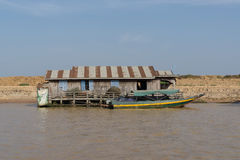 Tonle Sap Scenery Royalty Free Stock Photo