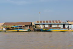 Tonle Sap Scenery Royalty Free Stock Image