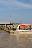 Tonle Sap Scenery Royalty Free Stock Photography