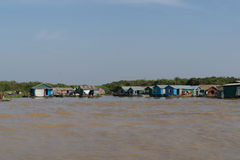Tonle Sap Scenery Stock Image