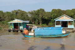 Tonle Sap Scenery Stock Photos