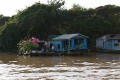 Tonle Sap Scenery Royalty Free Stock Photography