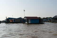 Tonle Sap Scenery Stock Photo