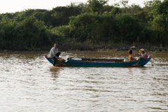 Tonle Sap Scenery Stock Images