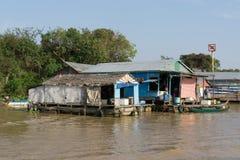 Tonle Sap Scenery Royalty Free Stock Photos