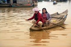 Tonle Sap See Stockfotos