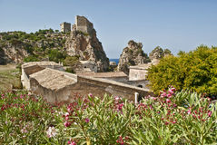 Tonnara di scopello Royalty Free Stock Photography