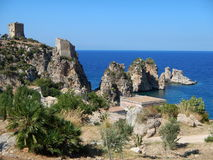 The Tonnara di Scopello Royalty Free Stock Image