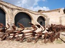 Tonnara di Scopello, Sicilia, Italia Fotos de archivo
