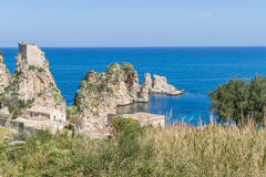 Tonnara di Scopello, Sicily Stock Image
